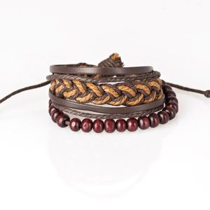 Deep Sea Sinker - Brown Bracelet